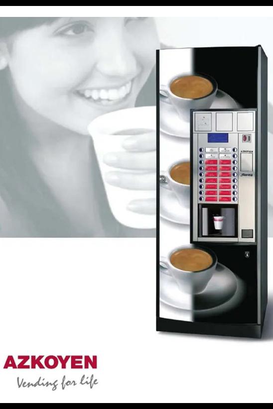 Azkoyen Sienna Coffee machine