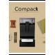 Compact coffee machine