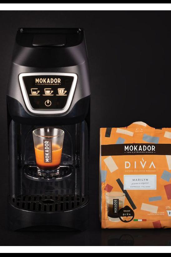 MOKADOR DIVA coffee machine