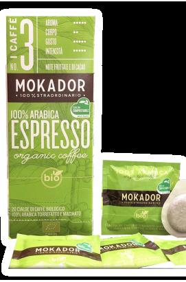 100% ARABICA BIO Premium Coffee ESE Espresso Pod