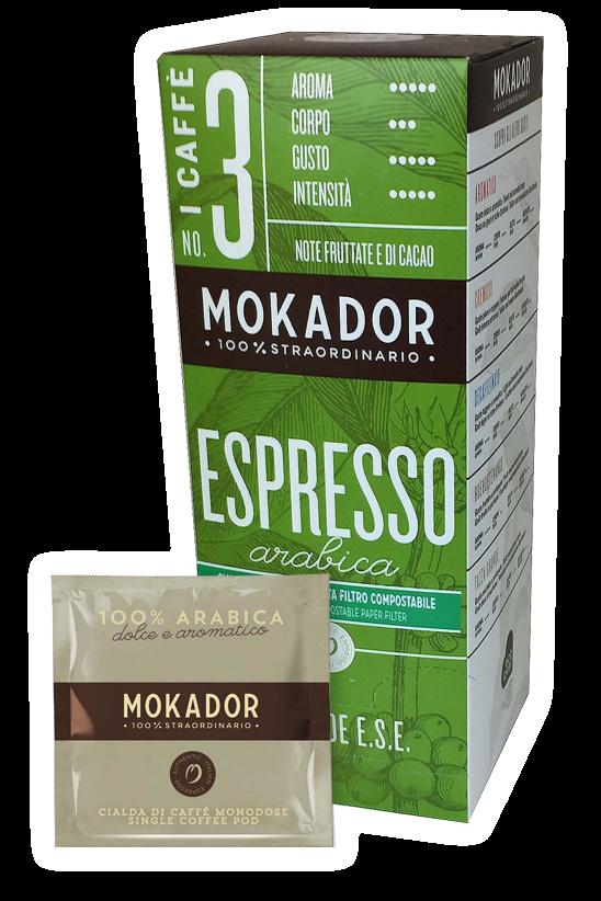 100% Arabica ESE Espresso Pod