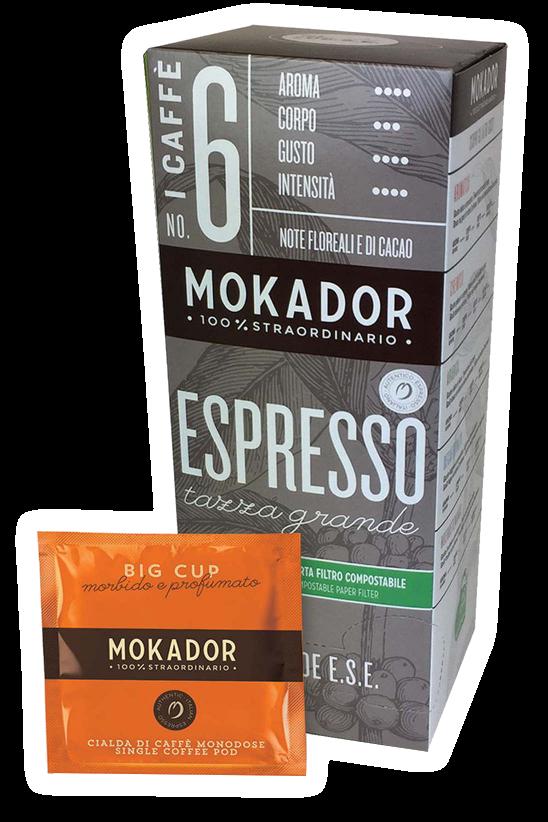 Big cup ESE Espresso Coffe Pod 20