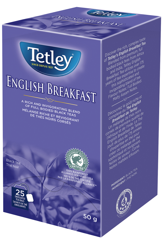English Breakfast Tea Premium Tetley