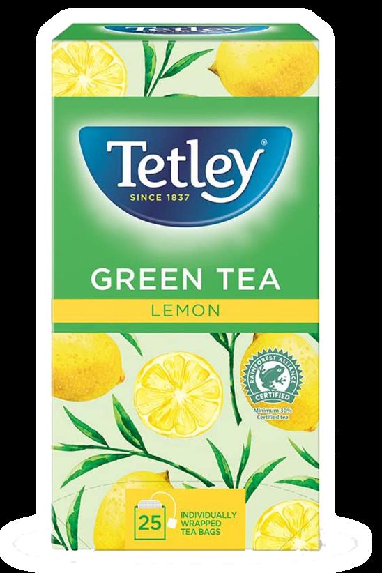 Green tea with lemon  Tea Premium Tetley